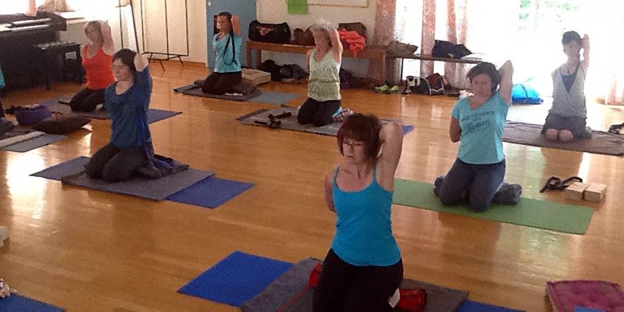 venez tester le yoga avec l'association Ayoshia